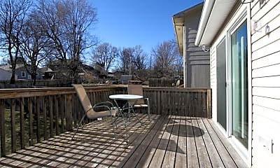 Patio / Deck, 3555 T St, 2