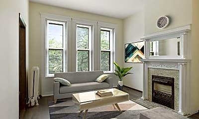 Living Room, 1009 Park Ave 321, 0
