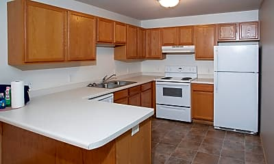 Kitchen, Rum River Apartments, 1