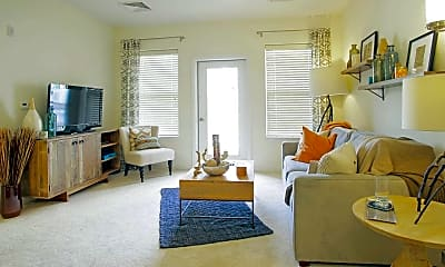 Living Room, Brigham Square, 1