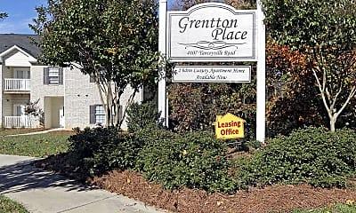 Community Signage, Grentton Place, 2