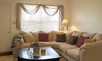 Living Room, Sun Ridge Village, 1