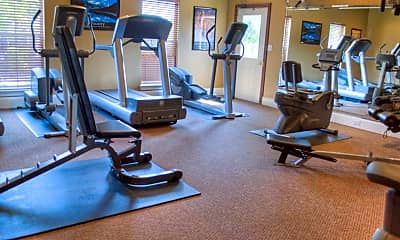 Fitness Weight Room, Landmark At Sugarland, 2