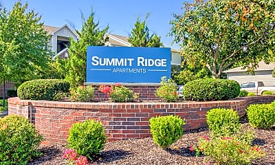 Community Signage, Summit Ridge Apartments, 2