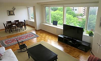 Living Room, 2475 Virginia Ave NW 822, 0