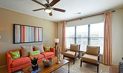 Living Room, City Walk Apartments, 1