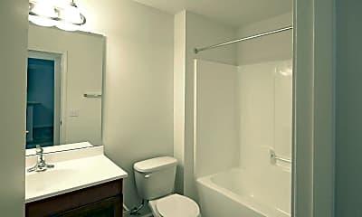 Bathroom, Meridian Village, 2