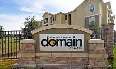 Community Signage, The Domain At Waco Student Apartments, 2