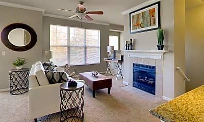 Living Room, Glenmuir of Naperville, 2