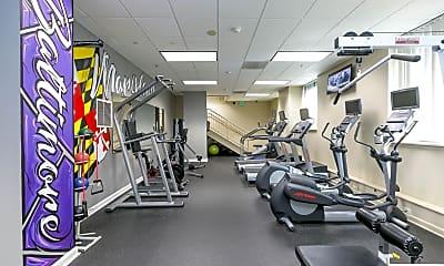 Fitness Weight Room, Camden Court, 1