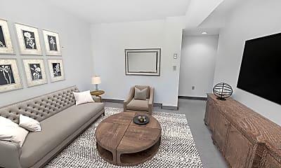 Living Room, 102 Queensberry Street, unit B, 0