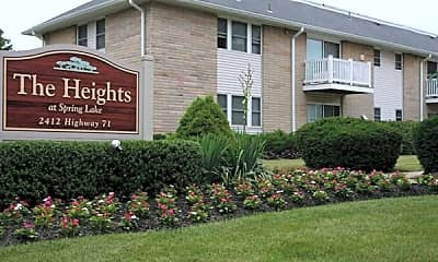 Community Signage, The Heights at Spring Lake, 1