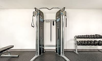 Fitness Weight Room, Bennington Pond, 2