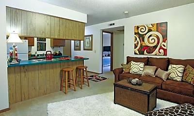 Living Room, Lakeside Village I/II, 1