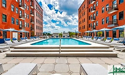 Pool, 630 Indian St 2BR, 2