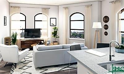 Living Room, 630 Indian St 1E, 1