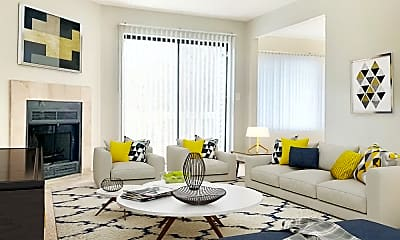 Living Room, Weatherstone Townhomes, 0