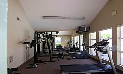Fitness Weight Room, Windrose Apartments, 1