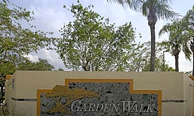 Community Signage, Garden Walk Apartments, 2