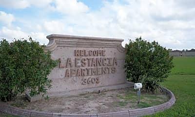 Community Signage, La Estancia Apartments, 1