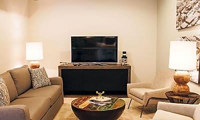 Living Room, City View Lofts, 2