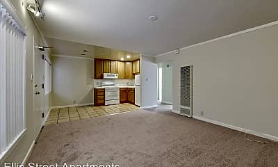 Living Room, 2065 Ellis St, 1