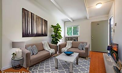 Living Room, 4737 Thornton Ave, 0