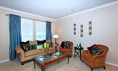 Living Room, The Clairborne Apartment Homes, 1