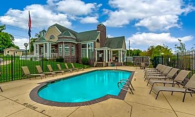 Pool, Ashley Square Apartments, 0