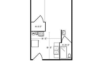 Building, 1317 Main St, 2