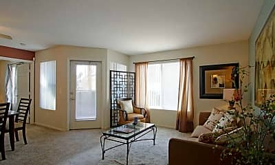Living Room, The Boulevard Apartments, 0