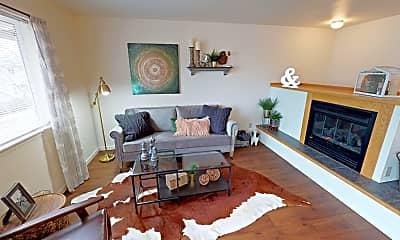 Living Room, Brentwood Estates, 1
