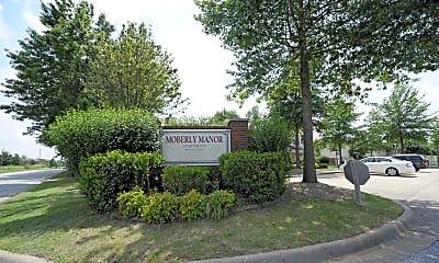 Community Signage, Moberly Manor I/II, 2