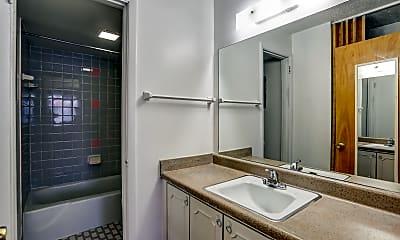 Bathroom, Americana Apartments, 2
