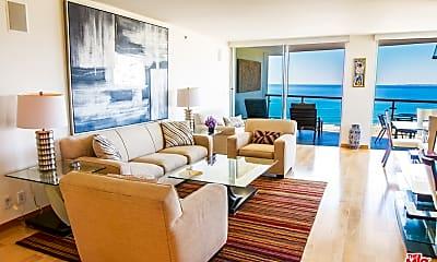 Living Room, 201 Ocean Ave 609P, 1