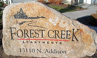 Community Signage, Forest Creek Apartments, 2