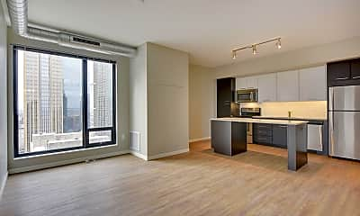 Living Room, 400 S Marquette Ave 2105, 1