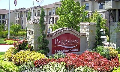 Community Signage, Parkview In Frisco, 2