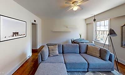 Living Room, 1807 Spruce St, 1