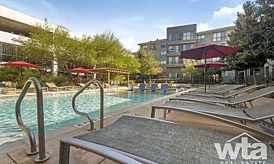 Pool, 11011 Domain Dr #8100, 1