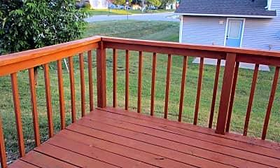 Patio / Deck, 2401-2403 Calder Ct, 1