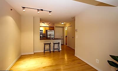 Living Room, 7500 Woodmont Ave S809, 2
