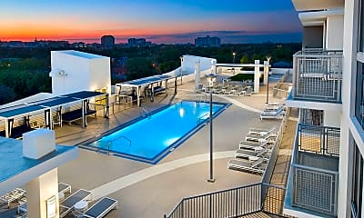 Pool, Grove Station Tower Apartments, 2