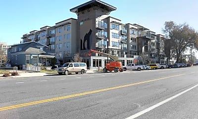 Building, North Sixth Apartments, 2
