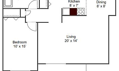 Kitchen, 4510 Rhode Island Ave N, 1