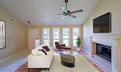 Living Room, 7030 Foxwaithe Ln, 1