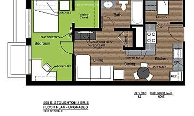 Bathroom, 408 E Stoughton St, 2