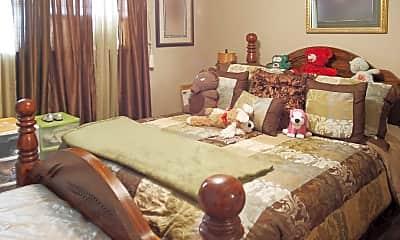 Bedroom, Sunset Heights, 2
