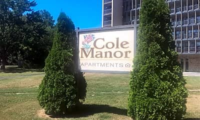 Cole Manor Apartments, 1