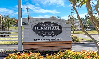 Community Signage, The Hermitage, 1